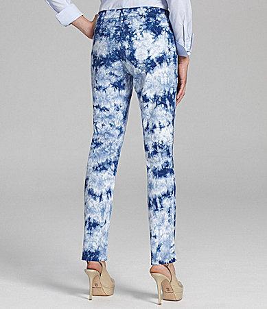 NYDJ Sheri Tie-Dye Skinny Jeans