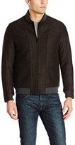 Perry Ellis Men's Multicolor Bomber Jacket