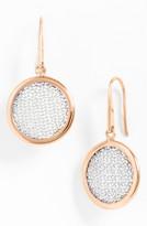 Nordstrom Adami & Martucci 'Mesh' Round Drop Earrings Exclusive)