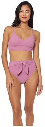 Jessica Simpson Smock It To Ya Cropped Cami Top (Rose Dust) Women's Swimwear