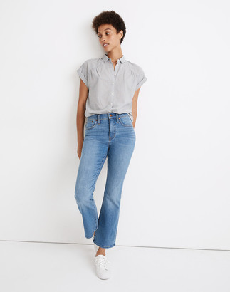 Madewell Petite Cali Demi-Boot Jeans in Timpson Wash