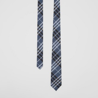 Burberry Classic Cut Vintage Check Silk Tie