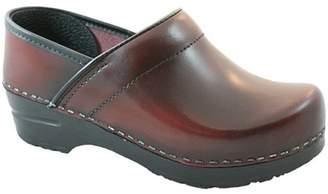 Sanita Cabrio Narrow Bordeaux in Brush-Off Leather
