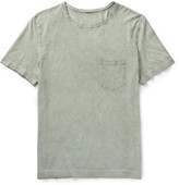 Massimo Alba - Panarea Slim-fit Garment-dyed Cotton-jersey T-shirt