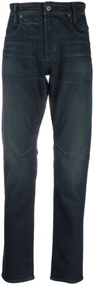 G Star Mid-Rise Slim-Fit Jeans