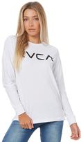 RVCA Big Ls Tee White