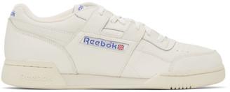 Reebok Classics Off-White Workout Plus 1987 TV Sneakers