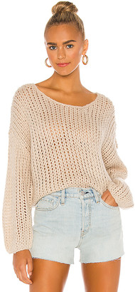 Amuse Society Desert Skies Long Sleeve Knit Sweater