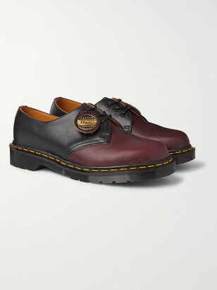 Dr. Martens 1461 Colour-Block Leather Derby Shoes