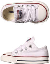 Converse Girls Chuck Taylor All Star Hi Top Shoes Canvas