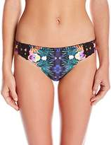Nanette Lepore Women's Habanera Charmer Classic Hipster Bikini Bottom