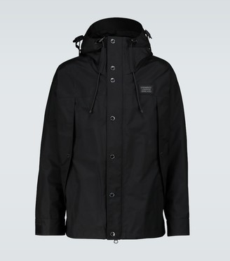 Burberry Keyworth hooded rain jacket