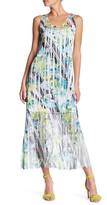 Komarov Sleeveless Maxi Dress