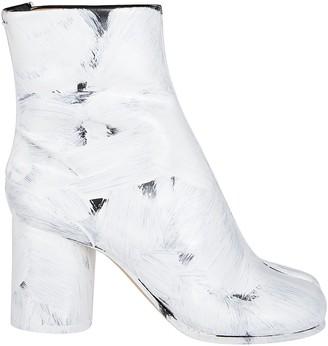 Maison Margiela Paint Stroke Tabi Boots