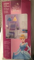 Imperial Star Disney 8 Princess Self-Stick Room Appliques