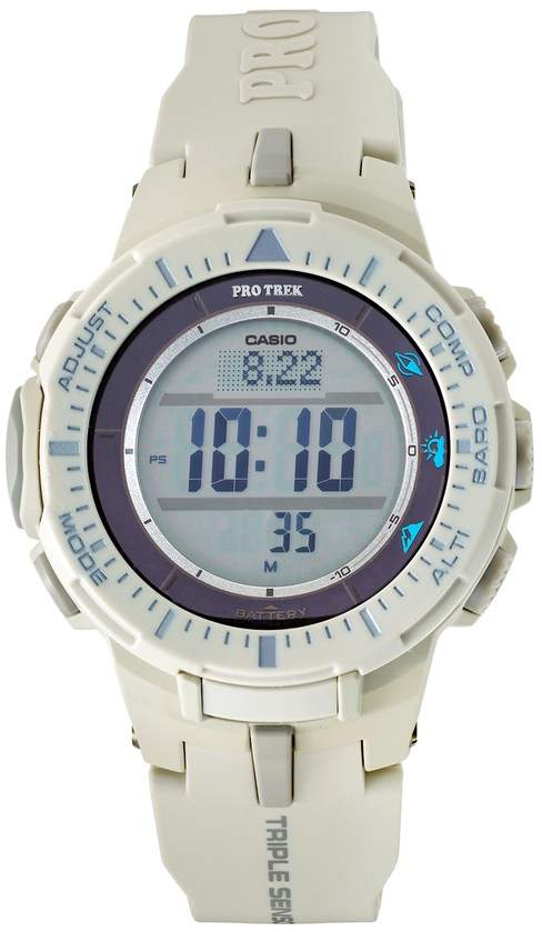Casio Men's PRO TREK Triple Sensor Tough Solar Digital Watch