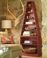 The Well Appointed House Somerset Bay Avalon Bookcase-Available in a Variety of Finishes - CURRENTLY ON BACKORDER -