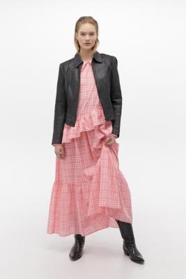Résumé Resume Teagan Maxi Dress - Pink 36 at Urban Outfitters