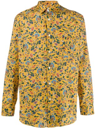 Comme des Garcons Floral Print Shirt