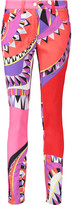 Emilio Pucci Mid-rise printed skinny jeans