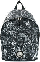 Versus illustrated print backpack