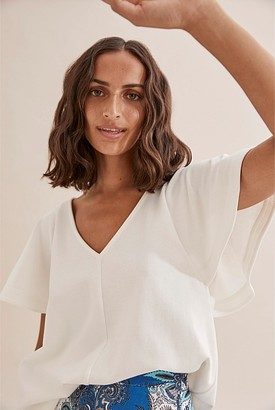 Country Road Flutter Sleeve T-Shirt