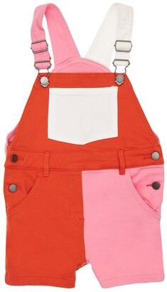 Stella McCartney Kids Stretch Organic Cotton Denim Overalls