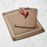 Crate & Barrel Epicurean ® Carver and Everyday Nutmeg Board Set
