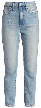 TRAVE Kai High-Rise Cigarette Jeans