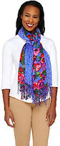 Isaac Mizrahi Live! Set of 2 Floral & Dot Printed Scarves