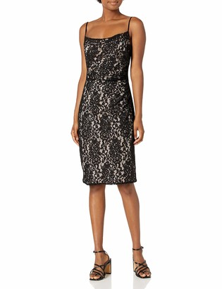 Laundry by Shelli Segal Women's Shirred Lace Cocktail