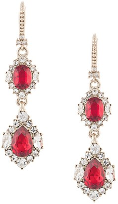 Marchesa Crystal-Drop Earrings