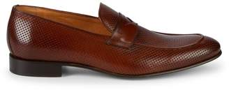 Saks Fifth Avenue Perforated Leather Loafers