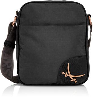 Sansibar Women B-843 PO Cross-body Bag Black Size: 22 x 27 x 7 cm (W x H x D)
