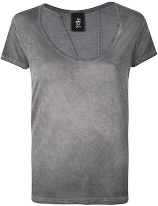 Thom Krom asymetric stitching T-shirt