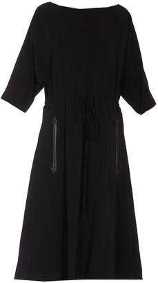 Gucci Drawstring Waist Midi Dress