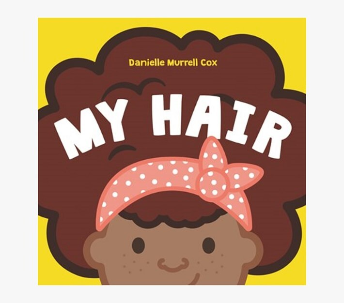 Thumbnail for your product : Pottery Barn Kids My Hair Board Book