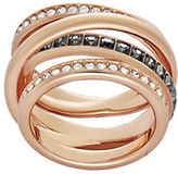 Swarovski Dynamic Multi-Band Crossover Ring