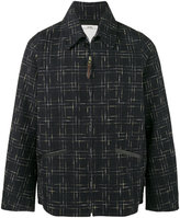 Visvim Everett kangaroo skin check jacket