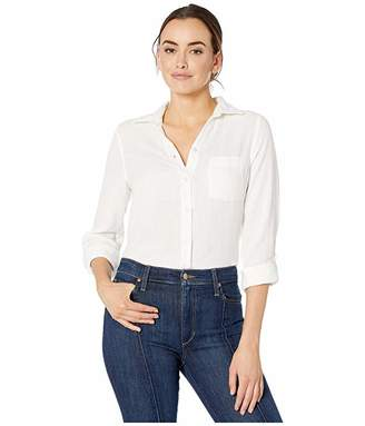 Jag Jeans Long Sleeve Adley Double Cloth Button-Up Shirt