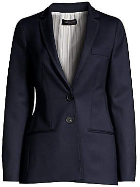 Piazza Sempione Women's Two-Button Wool Jacket