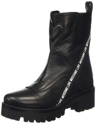 Love Moschino Women's St.ttod.carro Ankle Boots