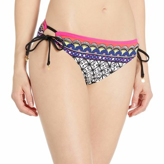 Trina Turk Women's Side Tie Hipster Bikini Swimsuit Bottom