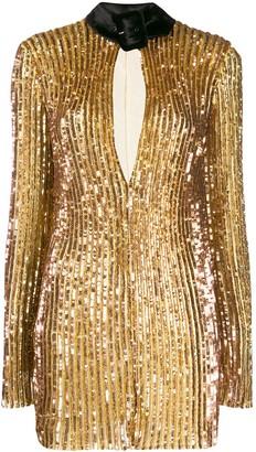 ATTICO sequinned mini dress