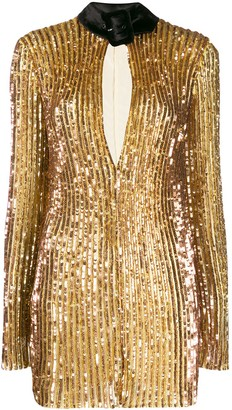 ATTICO Sequinned Mini Dress