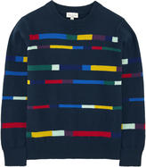 Paul Smith Striped cashmere blend sweater