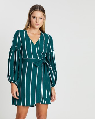 Steele Meyer Wrap Dress