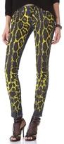Balmain Pierre Cheetah Print Jeans