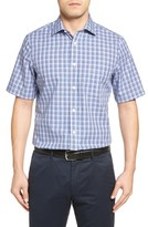 Nordstrom Men's Big & Tall Smartcare Glen Plaid Sport Shirt