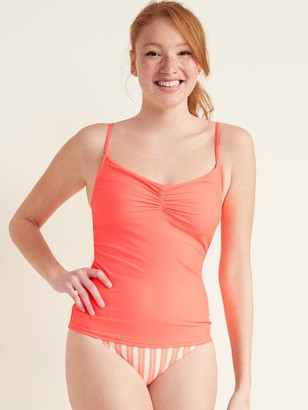 Old Navy Ruched Cami Tankini Swim Top for Women